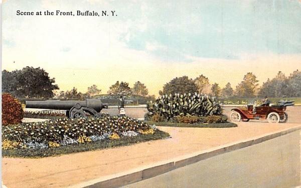 Scene at the Front Buffalo, New York Postcard