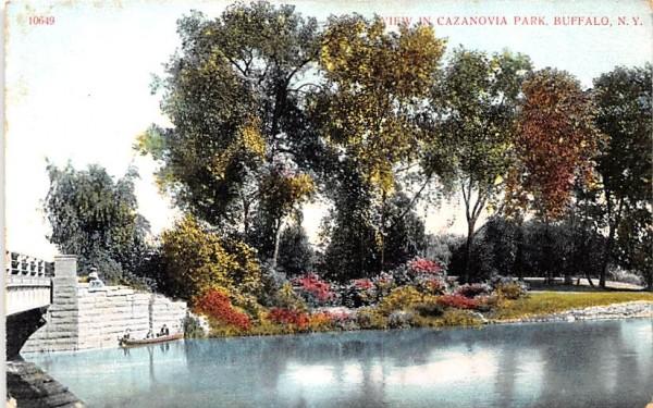 Cazanovia Park Buffalo, New York Postcard