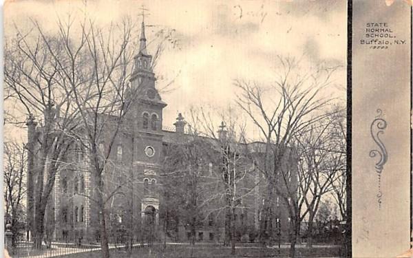 State Normal School Buffalo, New York Postcard