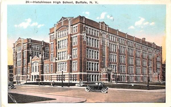 Hutchinson High School Buffalo, New York Postcard