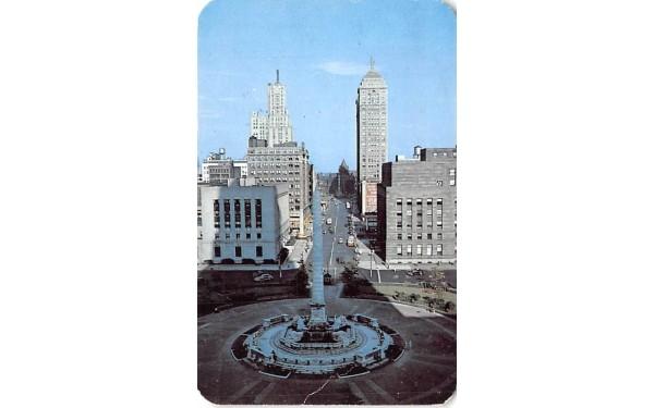 Square Buffalo, New York Postcard