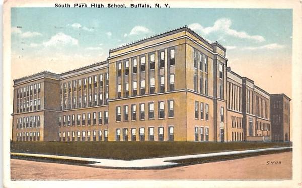 South Park High School Buffalo, New York Postcard