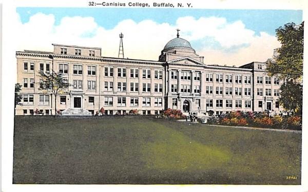 Canisius College Buffalo, New York Postcard