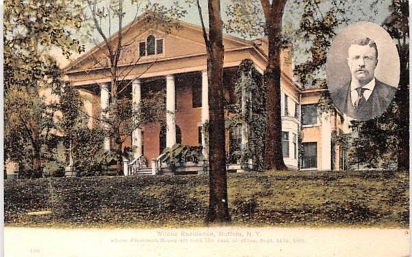 Wilcox Residence Buffalo, New York Postcard