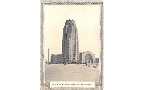 New York Central Terminal Postcard