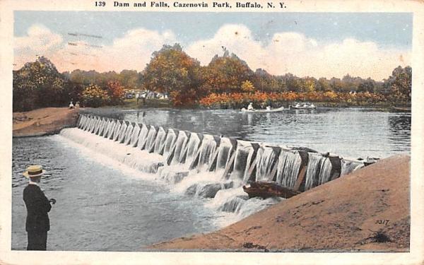 Cazenovia Park Buffalo, New York Postcard
