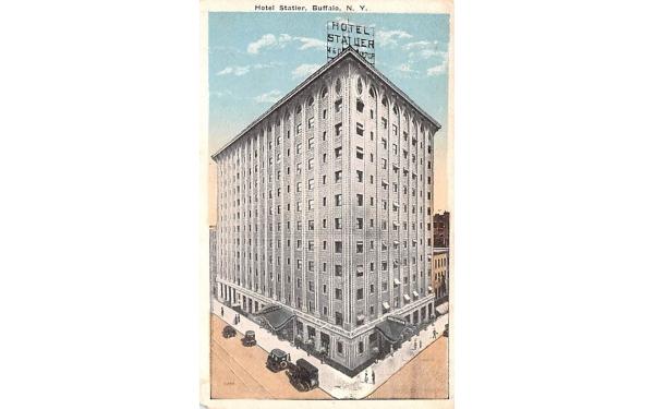 Hotel Statler Buffalo, New York Postcard