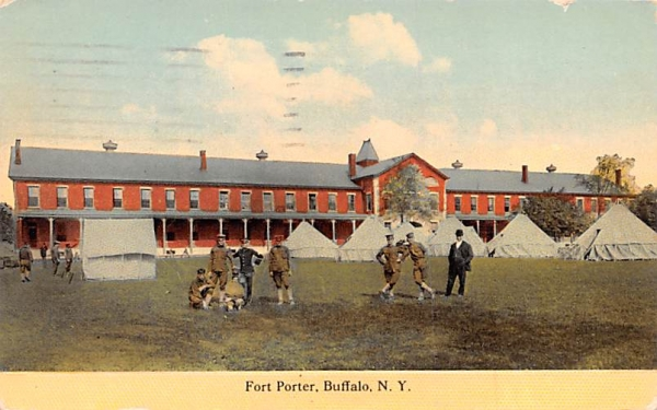 Fort Porter Buffalo, New York Postcard