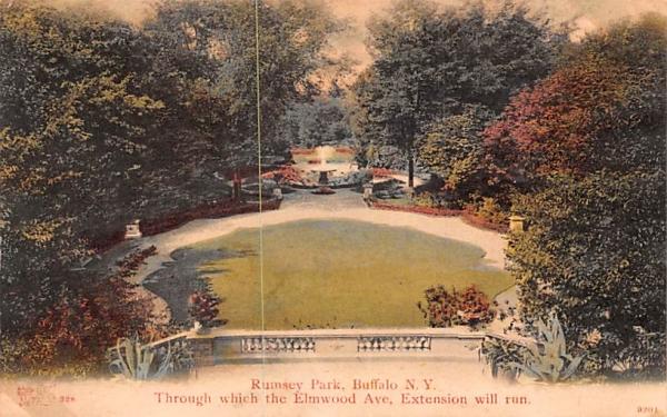 Rumsey Park Buffalo, New York Postcard
