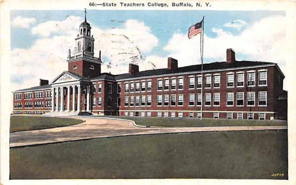 State Teachers College Buffalo, New York Postcard