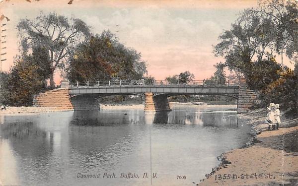 Casnovia Park Buffalo, New York Postcard