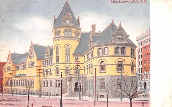Public Library Buffalo, New York Postcard