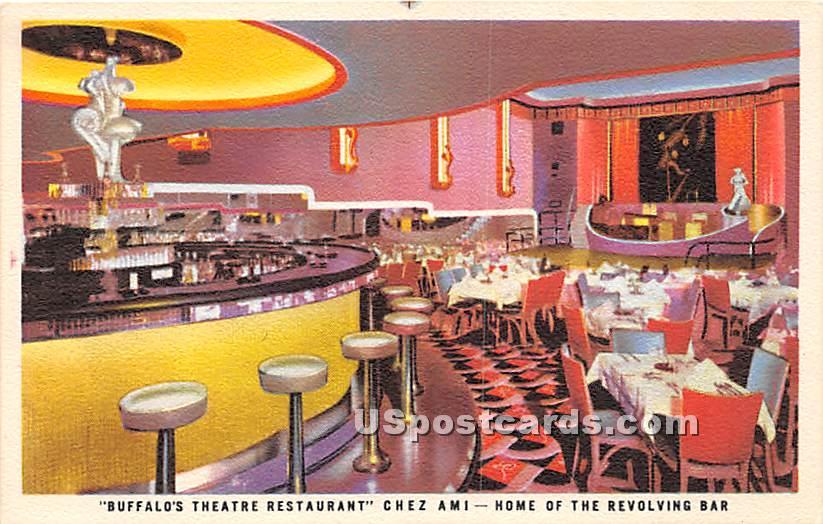 Buffalo's Theatre Restaurant - New York NY Postcard
