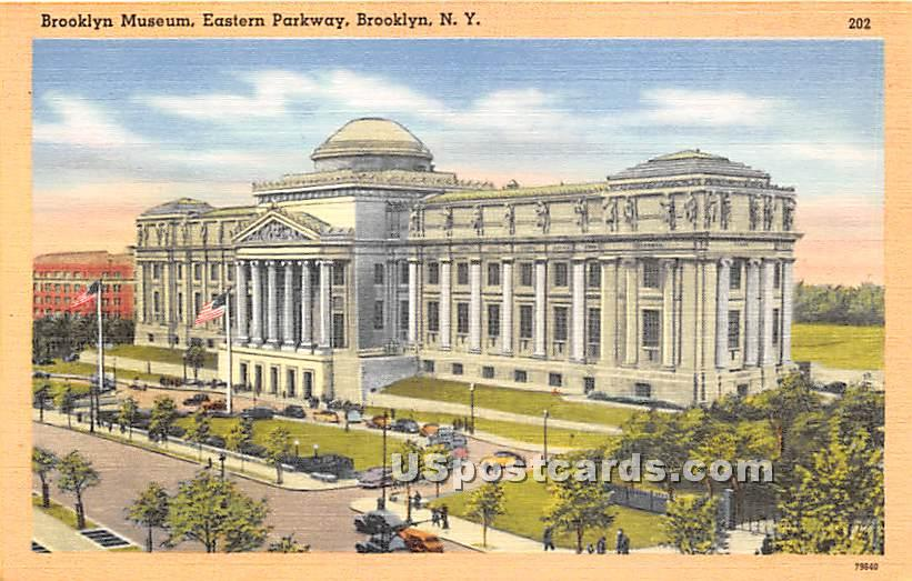 Brooklyn Museum - New York NY Postcard