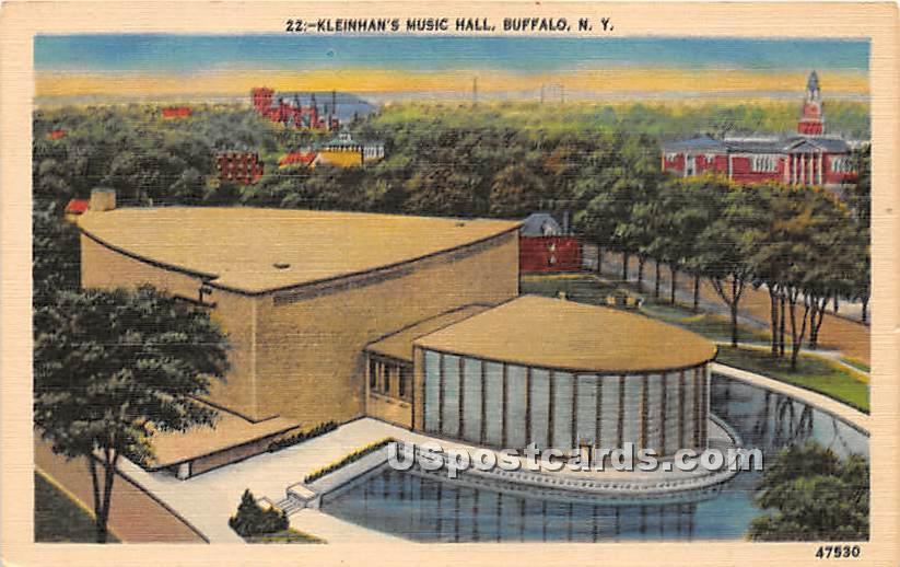 Kleinhan's Music Hall - Buffalo, New York NY Postcard