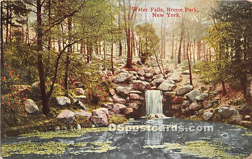 Water Falls - Bronx, New York NY Postcard