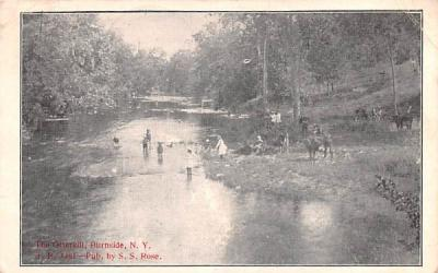 The Otterkill Burnside, New York Postcard