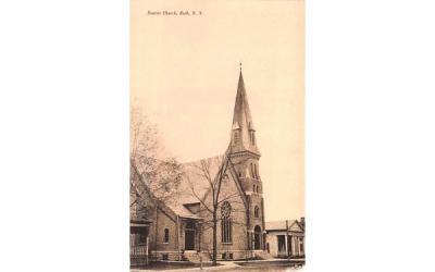 Baptist Church Bath, New York Postcard