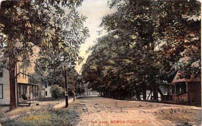 The Oaks Bemus Point, New York Postcard