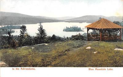 In the Adirondacks Blue Mountain Lake, New York Postcard