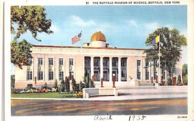 Buffalo Museum of Science New York Postcard