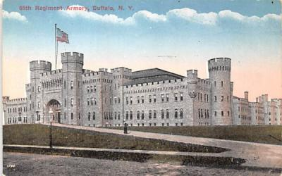 65th Regiment Armory Buffalo, New York Postcard