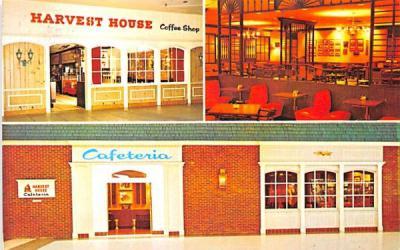 Harvest House Cafeterias & Coffee Shops Buffalo, New York Postcard