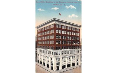 New Office Building of the Iroquois Natural Gas Co Buffalo, New York Postcard