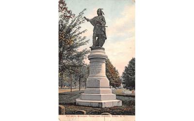 Red Jacket Monument Buffalo, New York Postcard
