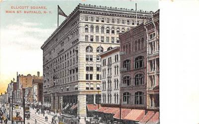 Ellicott Square Building Buffalo, New York Postcard
