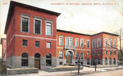 Universty of Buffalo New York Postcard