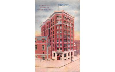 The Men's Hotel Buffalo, New York Postcard