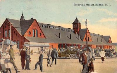 Broadway Market Buffalo, New York Postcard