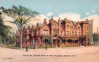 Castle Inn Buffalo, New York Postcard