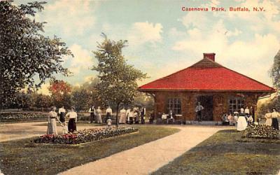 Casenovia Park Buffalo, New York Postcard