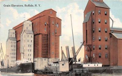 Grain Elevator Buffalo, New York Postcard