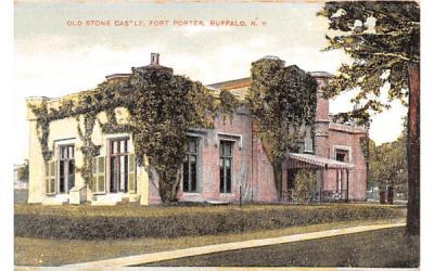 Old Stone Castle Buffalo, New York Postcard