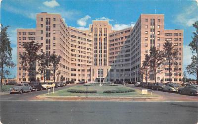 Veterans Hospital Buffalo, New York Postcard