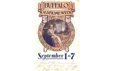 Buffalo Old Home Week New York Postcard