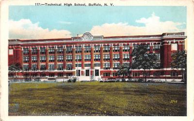 Technical High School Buffalo, New York Postcard