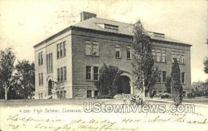 High School - Coxsackie, New York NY Postcard