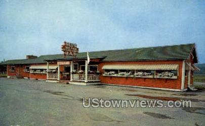 Red's Restaurant - Coxsackie, New York NY Postcard