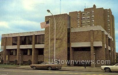 City hall - Cortland, New York NY Postcard