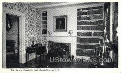 The Library, Constable Hall - Constableville, New York NY Postcard