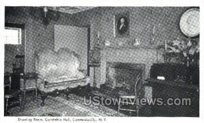 Constable Hall - Constableville, New York NY Postcard