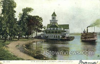 Steamer Landing - Chautauqua, New York NY Postcard