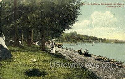 North Shore - Chautauqua, New York NY Postcard