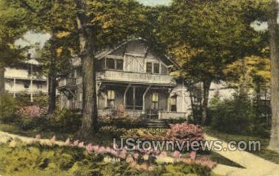 Miller Cottage - Chautauqua, New York NY Postcard