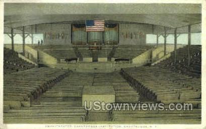 Amphitheatre - Chautauqua, New York NY Postcard