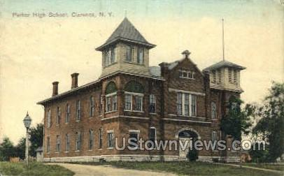 Parker High School - Clarence, New York NY Postcard
